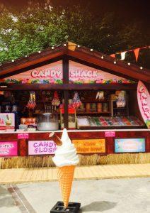 Derby Beach sweet shop