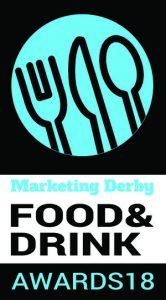 Marketing derby food drink awards logo