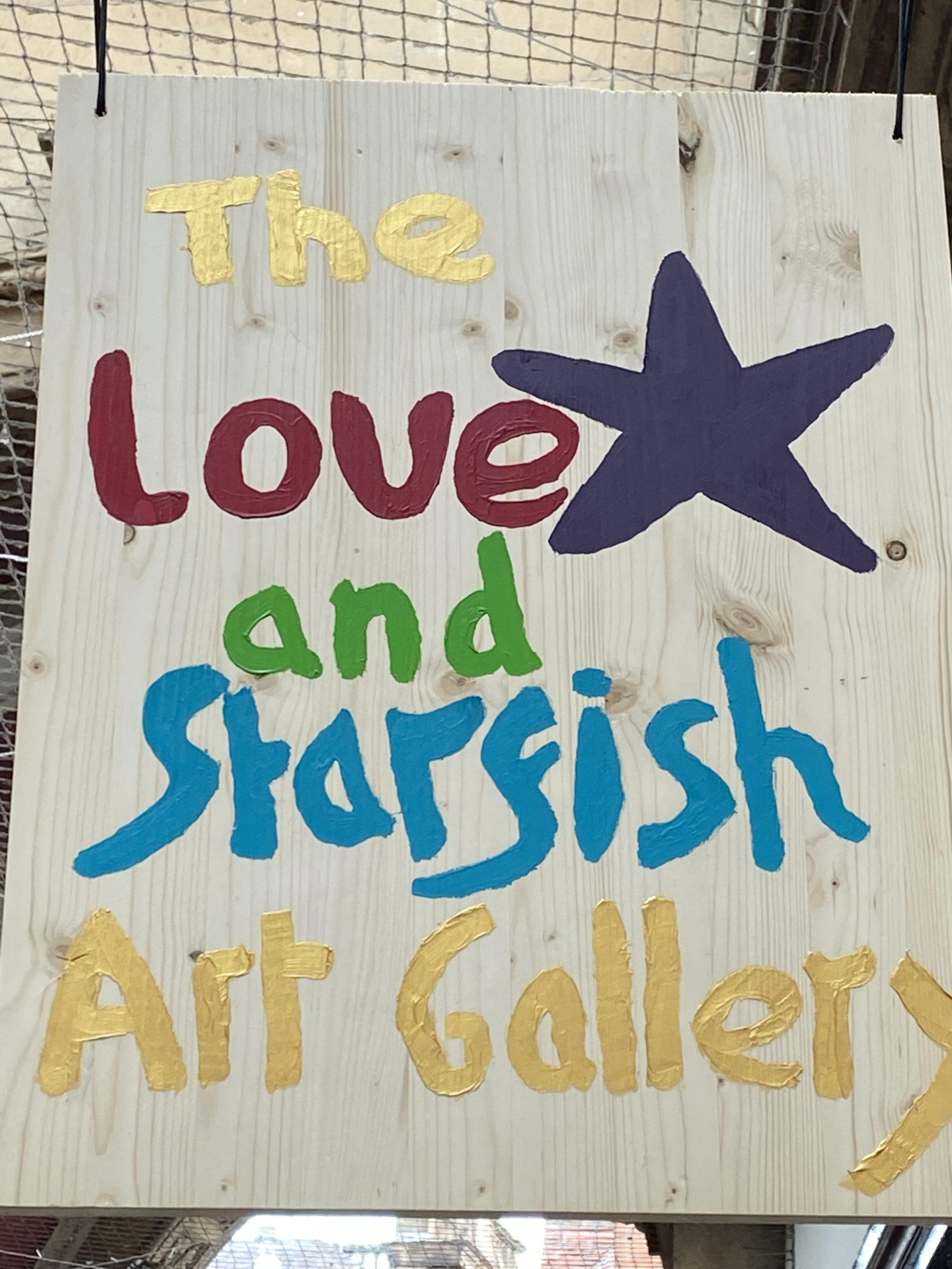 Love and Starfish Art Gallery